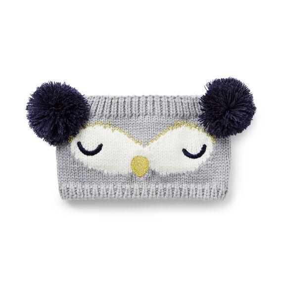 Pom Pom Owl Headband