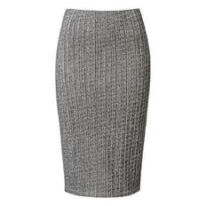 Textured Stretch Skirt