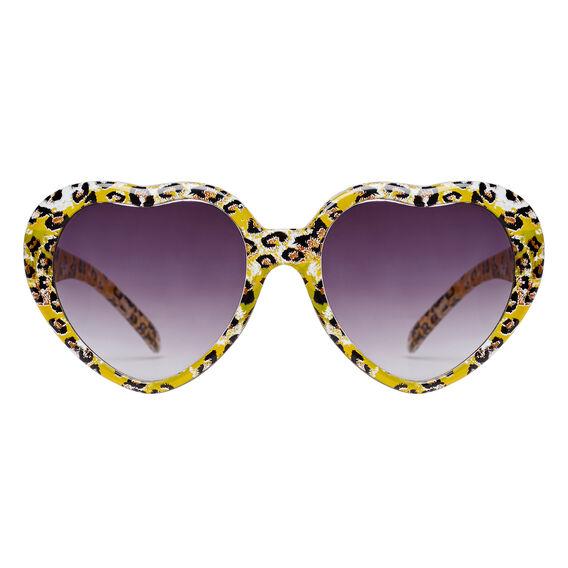 Ocelot Heart Sunglasses