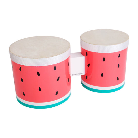 Watermelon Bongo Drums