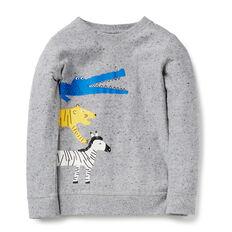 Jungle Print Sweater