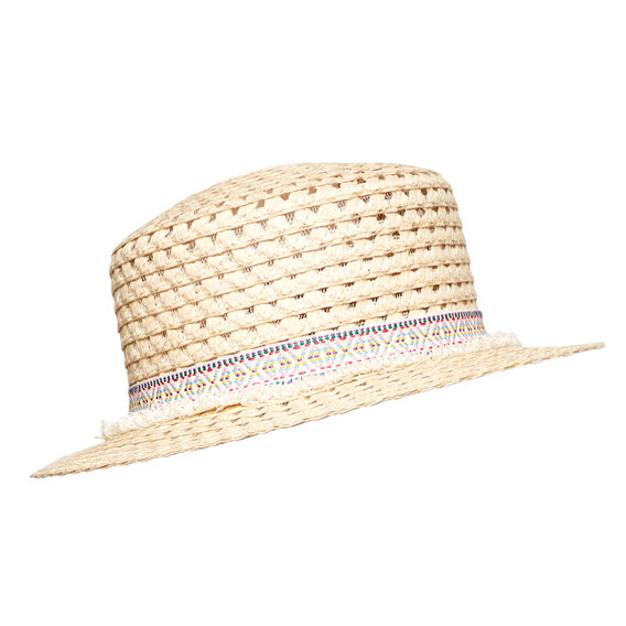 Fringe Band Boater Hat