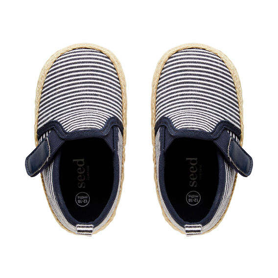 Stripe Baby Shoes