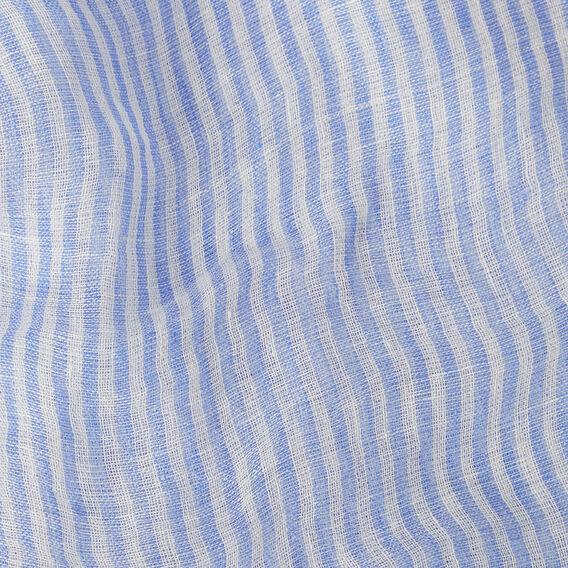 Stripe Pom Pom Scarf
