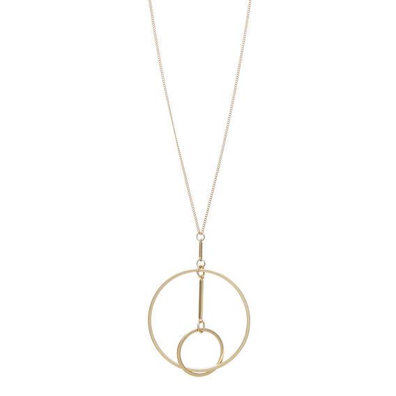Interlocked Circle Necklace