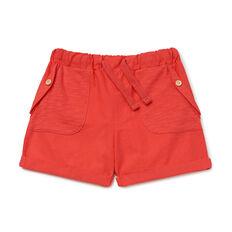 Woven Spliced Short