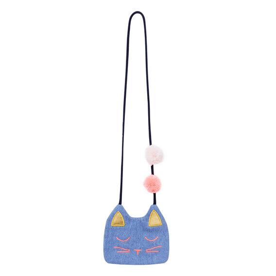 Pom Pom Cat Bag