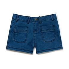 Denim Mini-Shorts