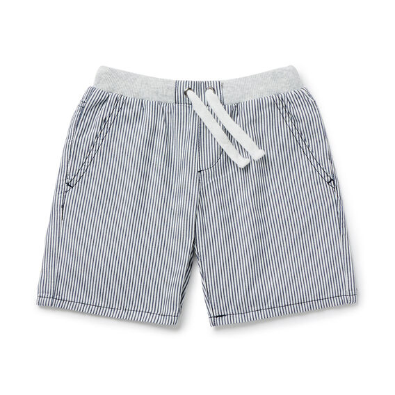 Stripe Rib Short