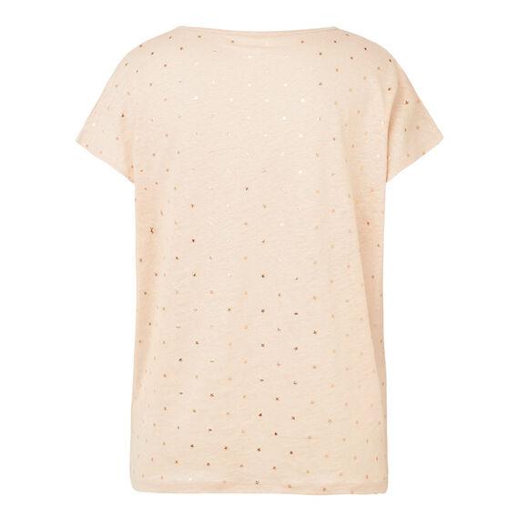 Linen Foil StarTee