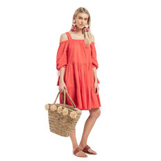 Dobby Resort Dress