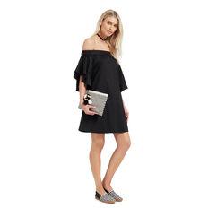 Layered Sleeve Dress