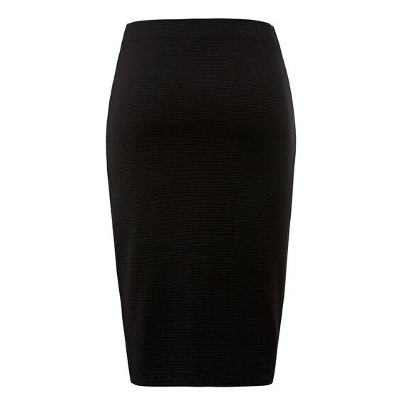 Textured Wrap Skirt