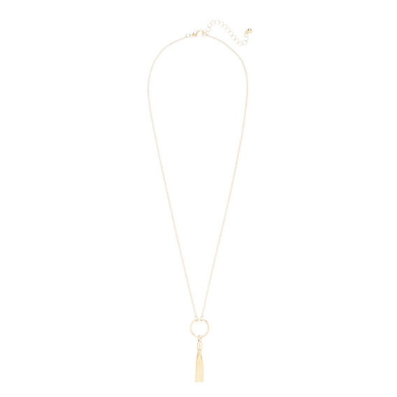 Tassel Ring Necklace