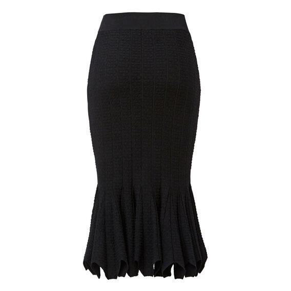 Crepe Edge Tube Skirt