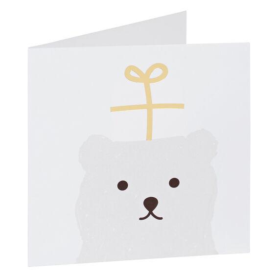 Bear Present Card