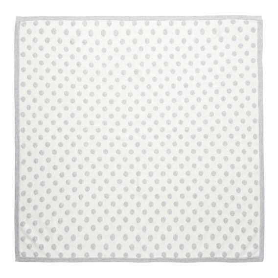 Spot Knit Blanket