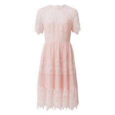 Tier Lace Dress