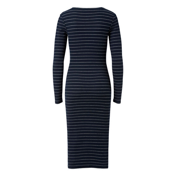 Slim Fit Long Sleeve Dress