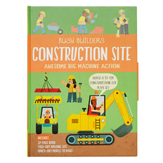 Busy Builders Construction Book