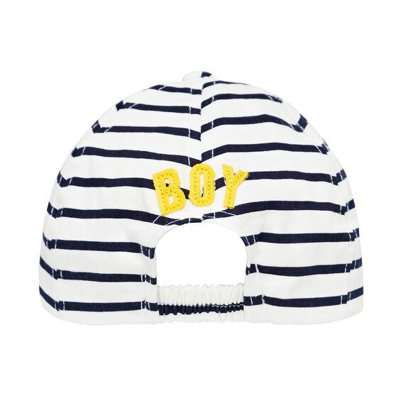 Baby Boy Stripe Cap