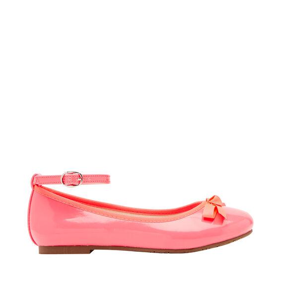 Pink Patent Ballet