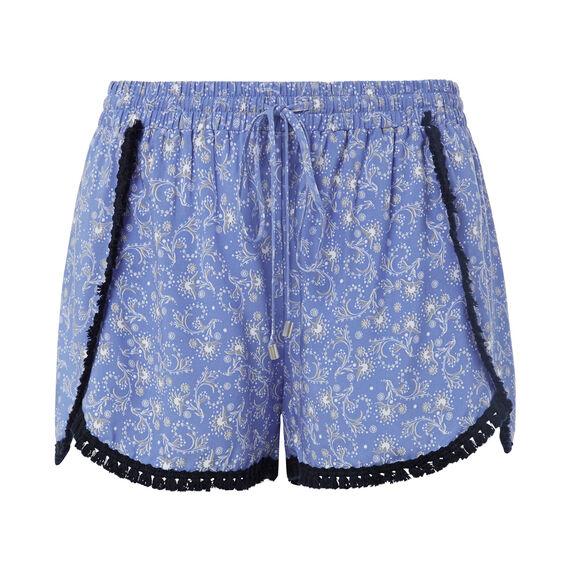 Ditsy Floral Trim Short