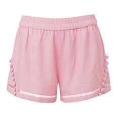 Textured Pom Pom Short