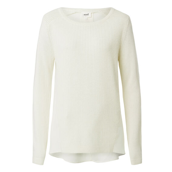 Splice Knitted Sweater