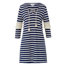 Indigo Jersey Dress