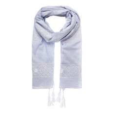 Embroidered Pattern Scarf