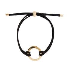 Suede Disc Bracelet