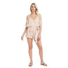 Embroidered Palm Jumpsuit