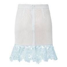 Lace Frill Flare Skirt