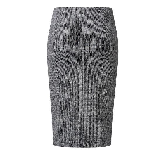 Marled Wrap Skirt