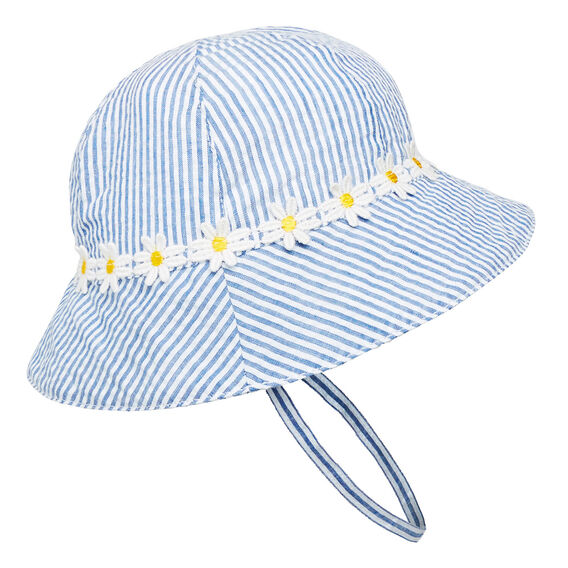 Daisy Trim Sun Hat