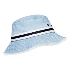 Frayed Brim Bucket Hat