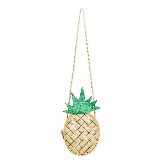Glitter Pineapple Bag