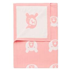 Bear Knit Blanket