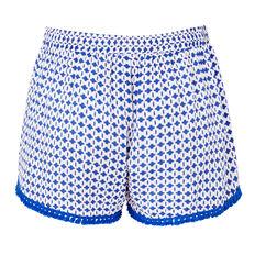 Multi Pom Pom Short