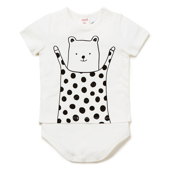 Spot Bear Bodysuit