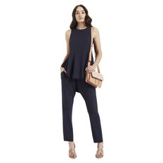 Trim Pocket Harem Pant