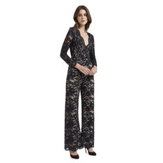 Lace Flare Jumpsuit