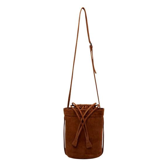 Penny Suede Bucket Bag