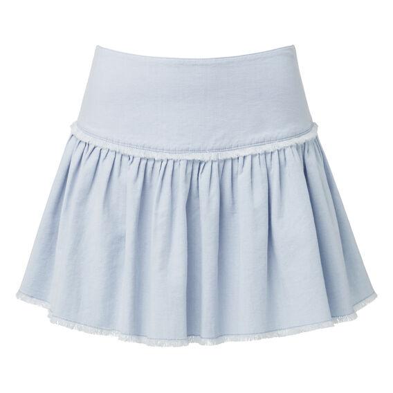 Blue Canvas Rah Rah Skirt