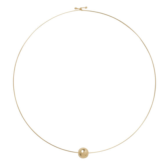 Fine Ball Necklace