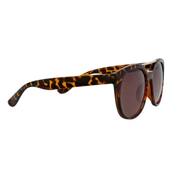 Round Top Bar Sunglasses