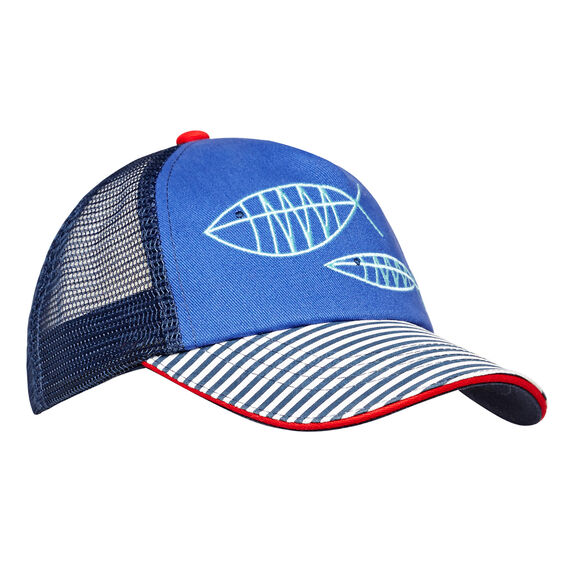 Fish Outline Cap