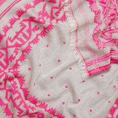 Pop Embroidery Scarf