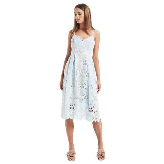 Lace Peplum Dress